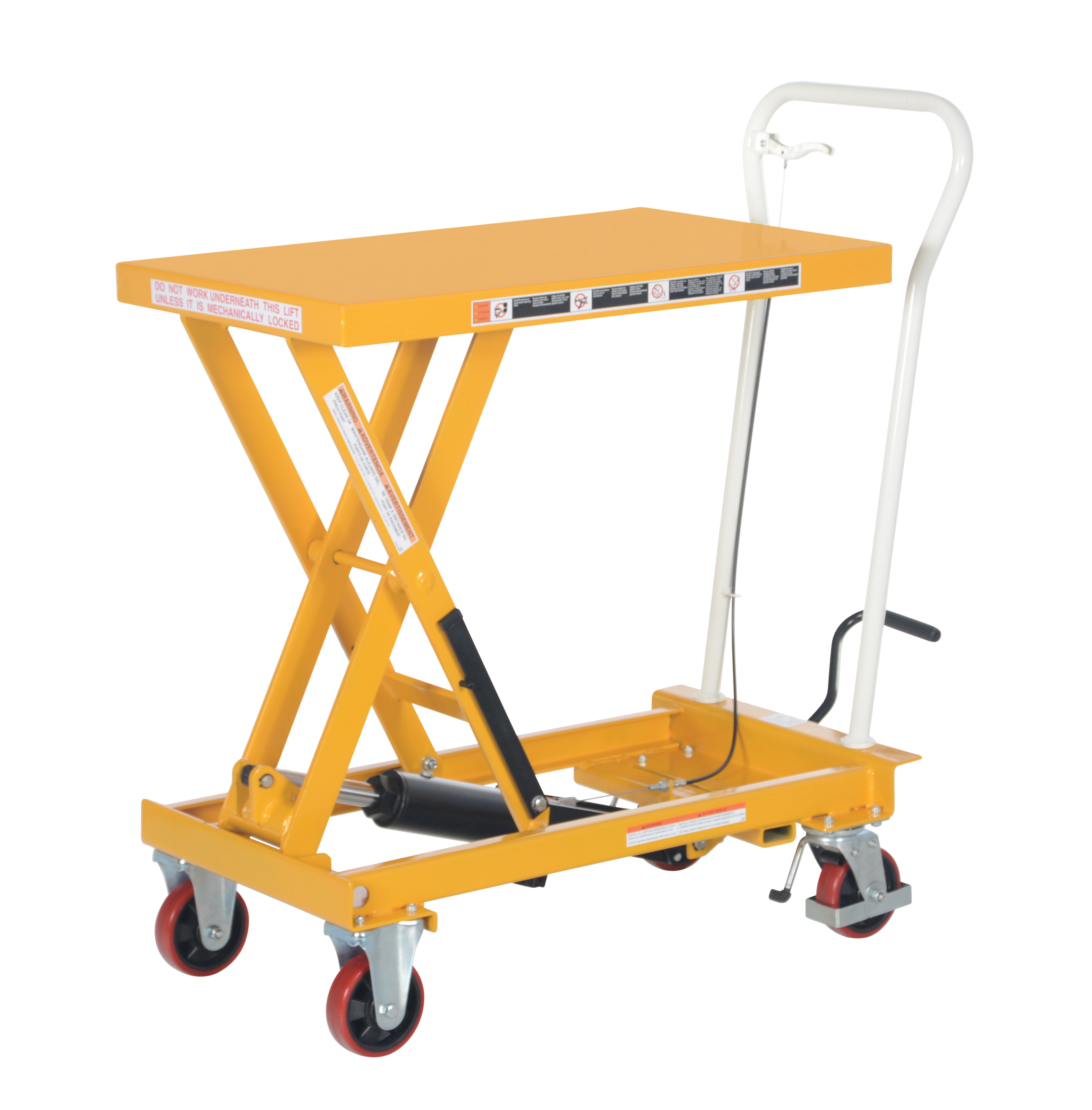 Auto-Shift Hydraulic Elevating Carts
